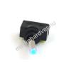 Phobya kétállású kapcsoló - kék LED - unipoláris ON/OFF (3pin)