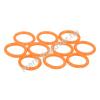 Phobya O-gyűrű 11,1 x 2 mm (G1 / 4 Coll) - UV reaktív narancs 10 db.