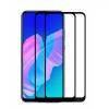 Picasee 3x 3D üvegfólia kerettel az alábbi mobiltelefonokra Huawei P40 Lite E - fekete - 2+1 ingyen