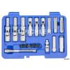 Pichler Tools Dugókulcs készlet izzítógyertyákhoz, vékonyfalú + PSG adapter 18 db-os(90476500)