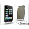 Pierre Cardin Apple iPhone 3G/3GS szilikon hátlap - fekete