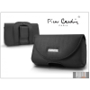Pierre Cardin Classic vízszintes, csatos-fűzős, különleges minőségű tok mobiltelefonhoz - TS3 méret