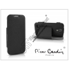 Pierre Cardin Samsung i9190 Galaxy S4 Mini flipes slim tok - Pierre Cardin DeLuxe Slim Folio - black