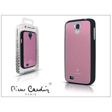 Pierre Cardin Samsung i9500 Galaxy S4 alumínium hátlap - pink tablet tok