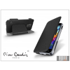 Pierre Cardin Samsung SM-G800 Galaxy S5 Mini flipes slim tok - Pierre Cardin DeLuxe Slim Folio - black