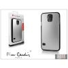 Pierre Cardin Samsung SM-G900 Galaxy S5 alumínium hátlap - silver