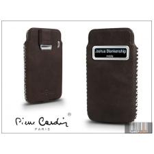 Pierre Cardin valódi bőrtok - Apple iPhone 4/4S - Type-4 - barna tok és táska
