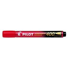 """Pilot Alkoholos marker, 1,5-4 mm, vágott, PILOT """"Permanent Marker 400"""", piros filctoll, marker"""