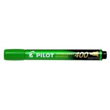 """Pilot Alkoholos marker, 1,5-4 mm, vágott, PILOT """"Permanent Marker 400"""", zöld filctoll, marker"""