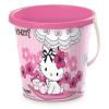 Pink4 Homokozó vödör Charmy Kitty - 19 cm