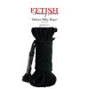 Pipedream Deluxe Silky Rope bondage kötél 9,75 méter (fekete)