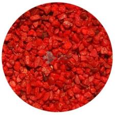 Piros akvárium aljzatkavics (1-2 mm) 0.75 kg akvárium dekoráció