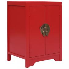 Piros császárfa éjjeliszekrény 38 x 28 x 52 cm kerti bútor