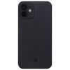 Pitaka AirCase Black/Grey (KI1201MA) Apple iPhone 12 készülékhez