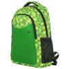 Pixie hátizsák, iskolatáska - zöld-fekete