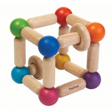 Plan Toys Formázható csörgő - négyzet rágóka