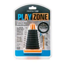 Play Zone Farokjáték  - pénisz-, heregyűrű és nyújtó szett (9 részes) péniszgyűrű