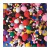 Playbox Pom-Pom, vegyes méret, alapszínek, 525 db