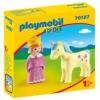 Playmobil 1.2.3 Hercegnő egyszarvúval 70127