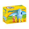 Playmobil 1.2.3 Űrhajós rakétával 70186