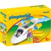 Playmobil 1.2.3 Utasszállító kisrepülőgép 70185