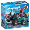 Playmobil City Action Műkincsrabló szuper kvadján 6879