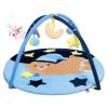 PlayTo Játszószőnyeg melódiával PlayTo alvó maci kék | Kék |