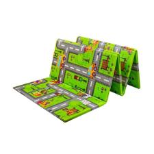 PlayTo | Nem besorolt | Multifunkciós habszivacs játszószőnyeg PlayTo országút | Zöld | játszószőnyeg
