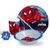 Pókember Étkészlet, melamin szett Spiderman, Pókember