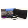 Polaroid szűrőszett (UV, CPL, FLD) + 4 db-os szűrőtok 77 mm (P-PL3FIL77)