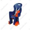 Polisport Gyerekülés csomagtartóra Polisport Boodie kék/narancs