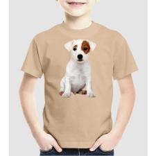 Pólómánia Jack Russel kutyus - Uniszex gyerek Póló gyerek póló