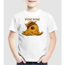 Pólómánia Pom Pom - Uniszex gyerek Póló gyerek póló