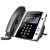 Polycom 2200-46162-025 Polycom VVX 410 Wired handset 12lines LCD Wi-Fi Black IP phone