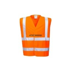 Portwest FR71 Antisztatikus, jól láthatósági és lángálló mellény (narancs)