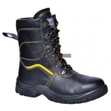 Portwest - FW05 Steelite szőrmebéléses védőbakancs S3 (FEKETE 47)