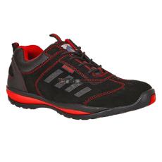 Portwest - FW34 Steelite? Lusum védőcipő S1P (fekete/piros)