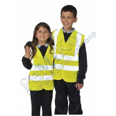 Portwest JN14 Jól láthatósági két csíkos mellény gyerekek részére