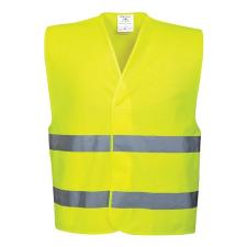 PORTWEST Jólláthatósági mellény, fluosárga, L/XL (S-5XL) láthatósági ruházat