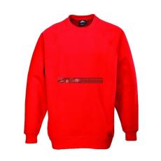 Portwest Portwest B300 Róma pulóver (piros)