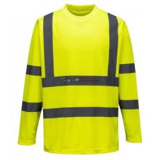 Portwest Portwest S178 Hi-Vis hosszú ujjú póló (sárga)