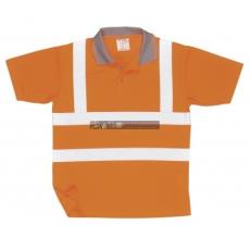 Portwest RT22 Jól láthatósági pólóing, GO/RT (NARANCS XL)
