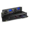 Power Dynamics PDX350, dual DJ-CD/USB-lejátszó-vezérlő, CD/USB/MP3, fekete