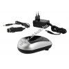 Powery Akkutöltő Sony NP-F550