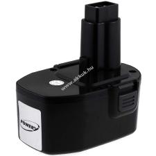 Powery Utángyártott akku Black & Decker fúrócsavarozó CD14CE 3000mAh NiMH japán cellás (PROFI) barkácsgép akkumulátor