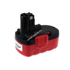 Powery Utángyártott akku Bosch típus BAT026 NiCd O-Pack 2000mAh barkácsgép akkumulátor