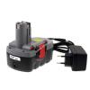 Powery Utángyártott akku Bosch típus BAT181 O-Pack Li-Ion + töltő