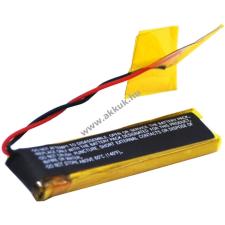Powery Utángyártott akku Jabra 100-55400000-60 fejhallgató akkumulátor
