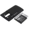 Powery Utángyártott akku LG G3 fekete 6000mAh