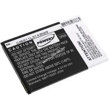 Powery Utángyártott akku Mobistel Cynus F3 pda akkumulátor